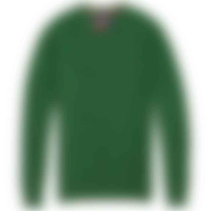 Superdry Orange Label Cotton Crew Knit Woodrush Marl