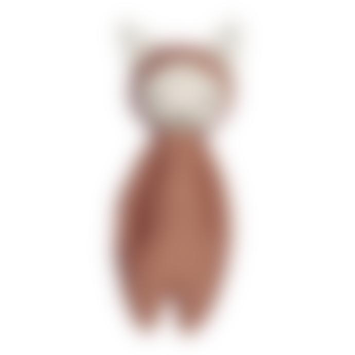 FABELAB Soft Rattle Fox