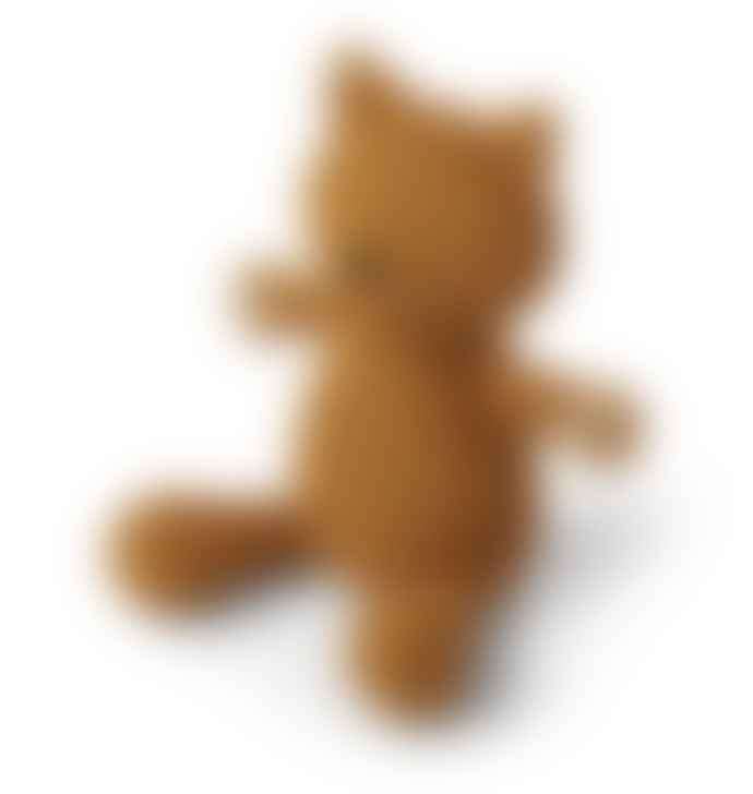 Liewood Missy Knit Teddy Cat Mustard