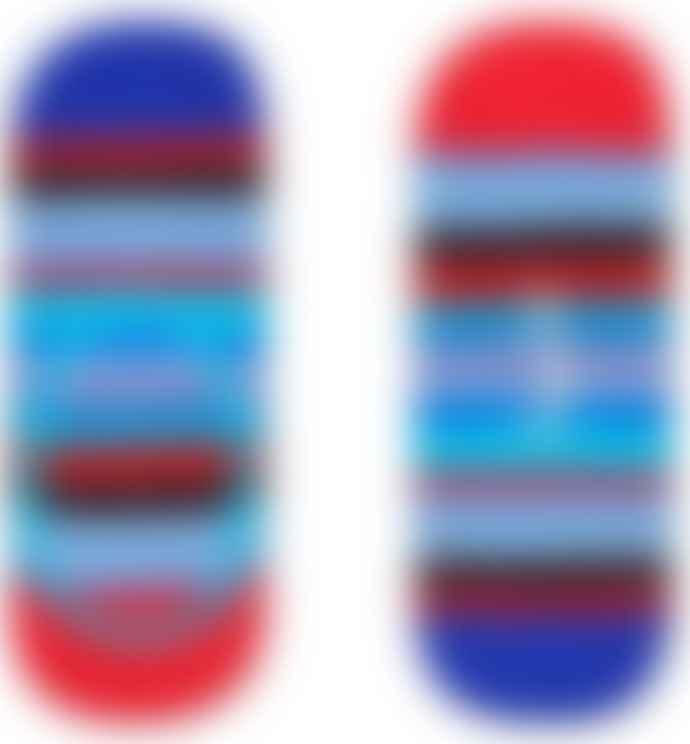 Happy Socks  3 Pack Cotton Polyamide Elastane Low Stripe Liner Socks