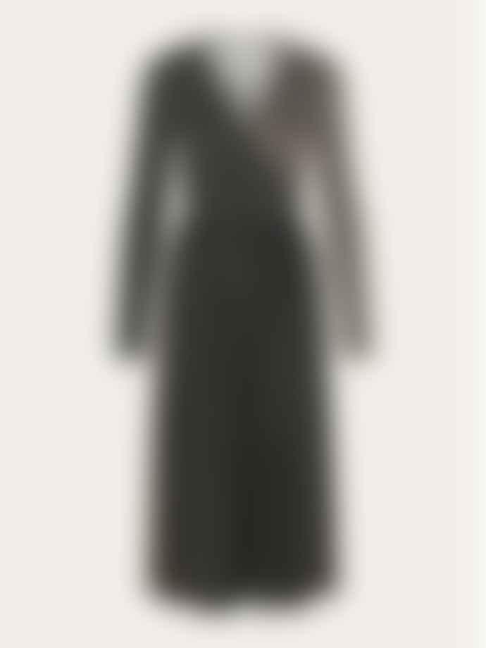 Stine Goya Alina Jersey Dress Black Mix