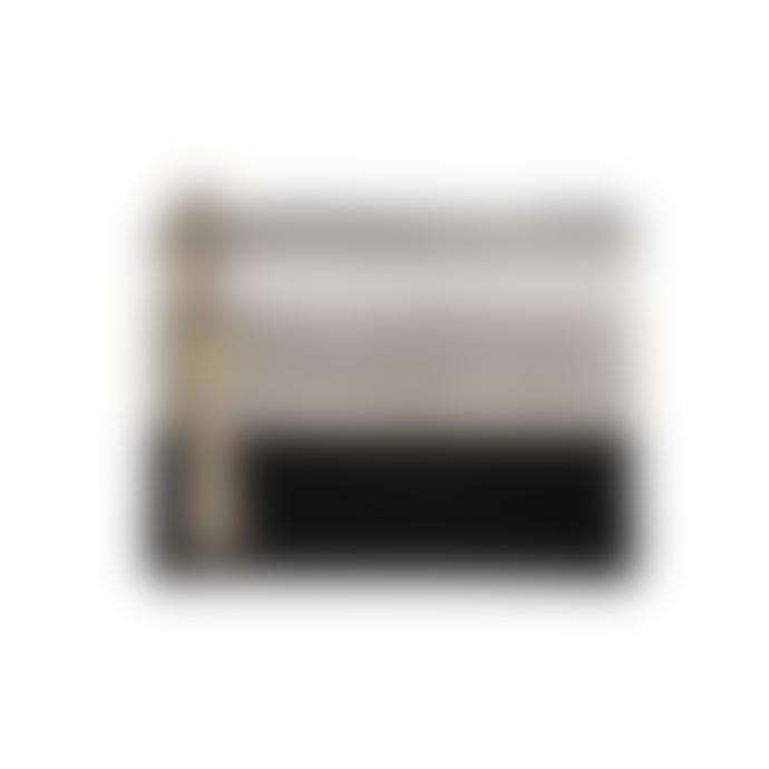 Maradji 15 x 19cm Licorice Cotton Alphonse Pouch