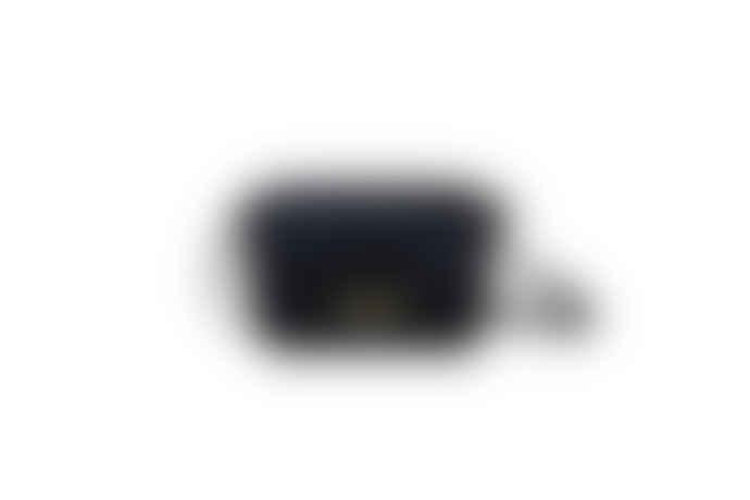 Maradji Mini Black Cotton Ninon Bag