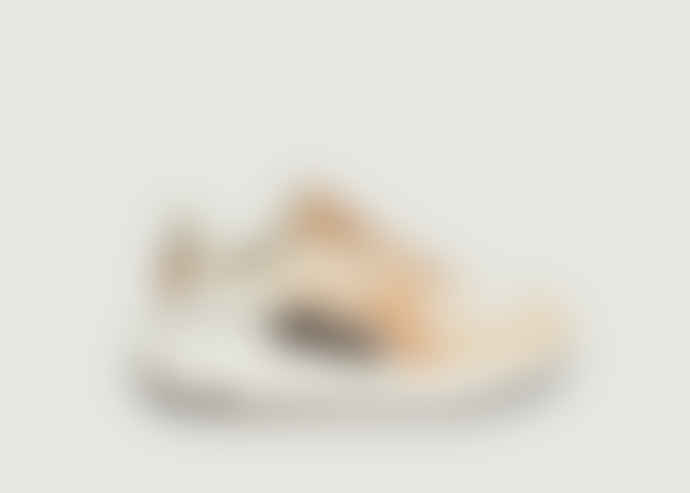 Diadora White Sand Leather Suede Rave Sneakers