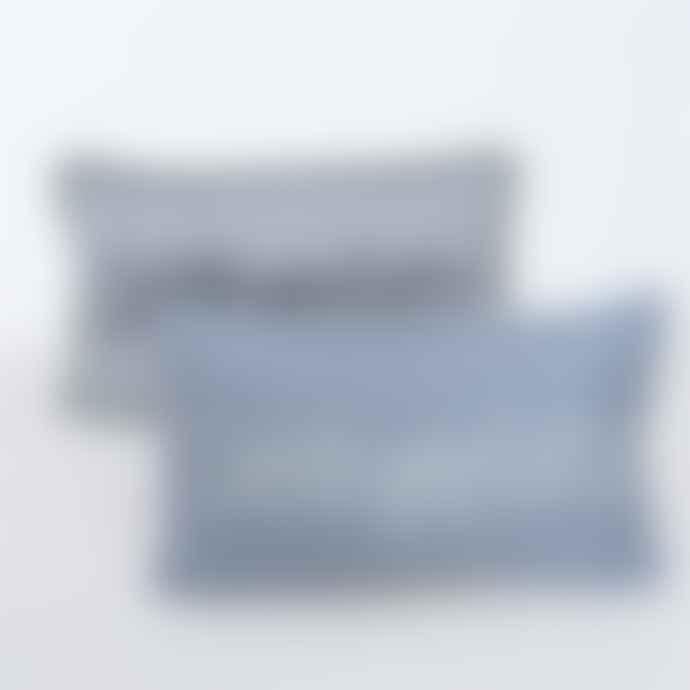 Boltze 30X50cm Favorite Place Pillow in Scandi Blue Green