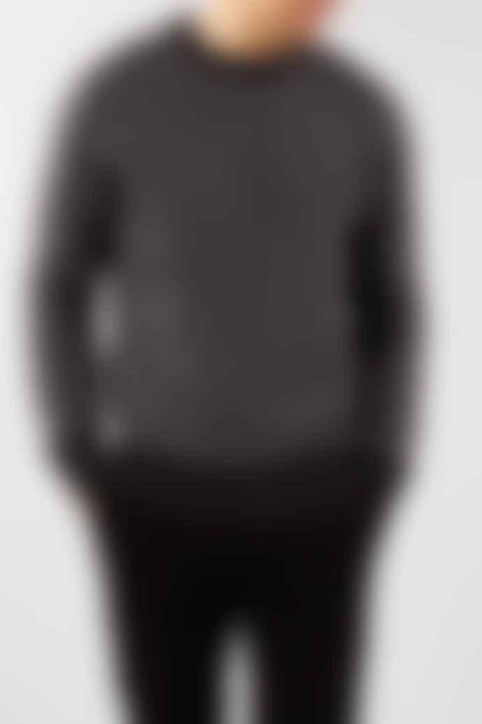 Selected Homme Black Herring Crew Neck Jumper