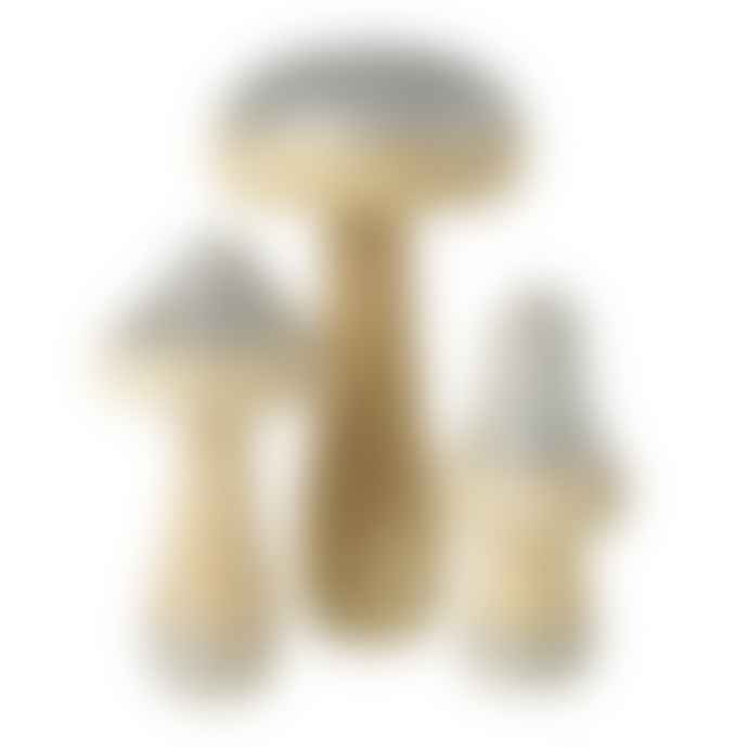 Heaven Sends Wooden Mushroom Set | Decorations
