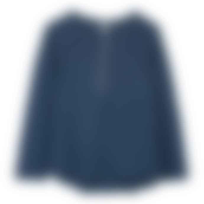 Le Petit Germain Indigo Linen Rothko Long sleeves Tshirt