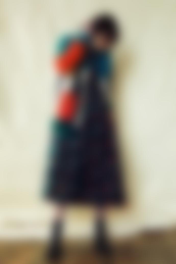 Lowie Colourblock Cardigan
