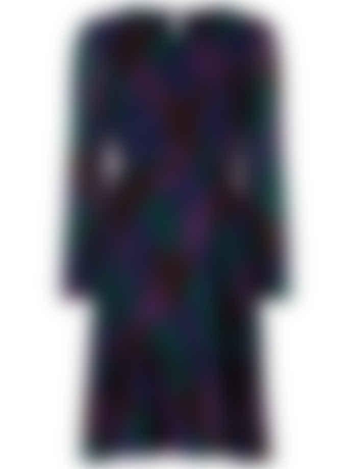 Fabienne Chapot Viscose Patchy Leopard Print Bonnie Dress
