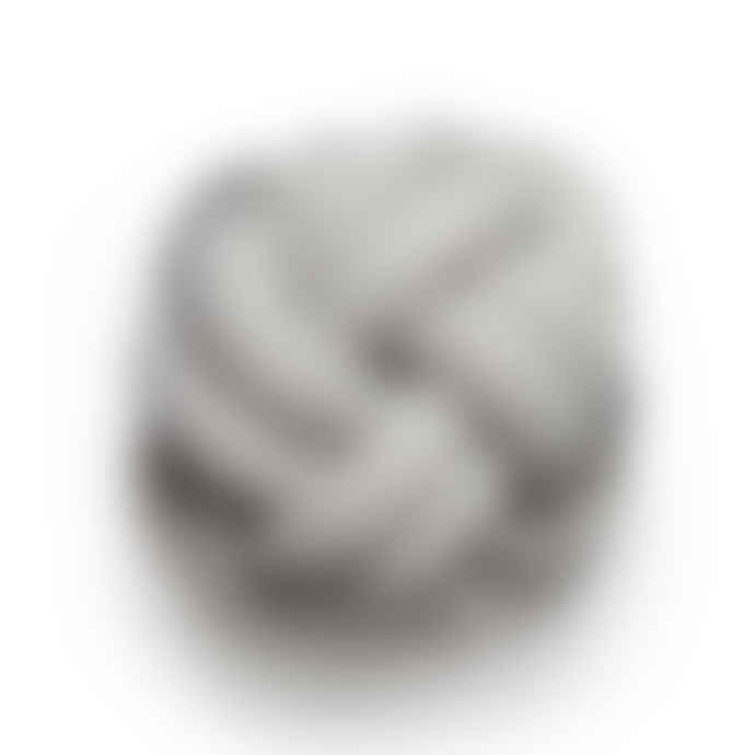Design House Stockholm  Perl Wool and Acrylic Knot Cushion