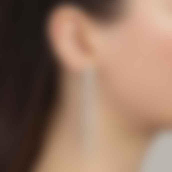 Pilgrim Rachel Sparkly Earrings Gold