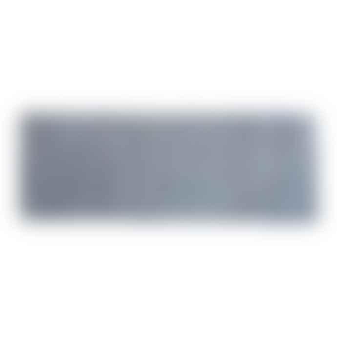 AU Maison 170 x 240 cm Midnight Blue and Cream Leather Carpet