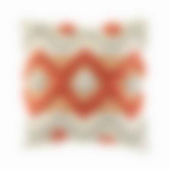 Sass & Belle  Arizona Terracotta Tufted Cushion Cover