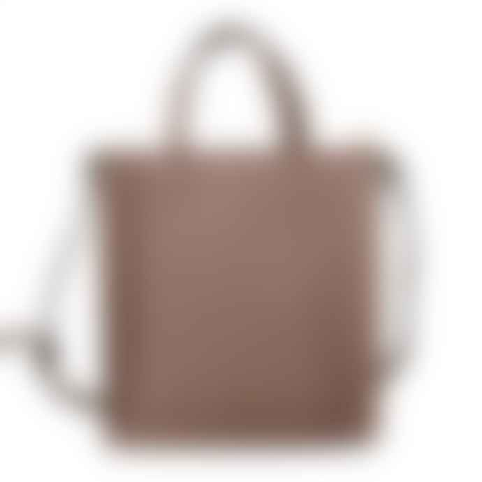 Red Cuckoo Stud Tote Bag  Taupe