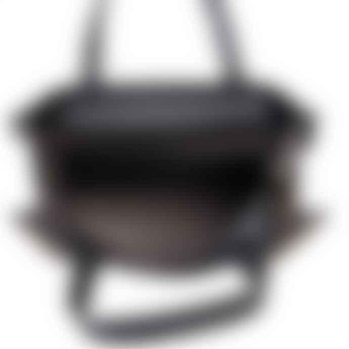 Red Cuckoo Stud Tote Bag  Black
