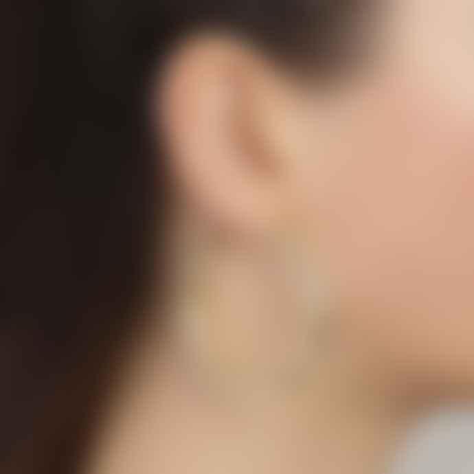 Pilgrim Maddie Chunky Hoop Earrings