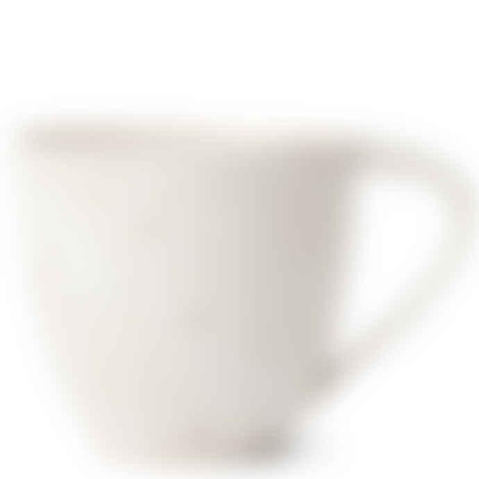 Erika Petersdotter Handmade Ceramic Teacup white Lava
