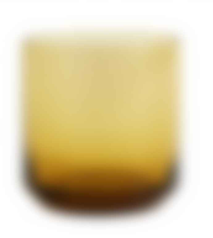 Nordal Amber Drinking Glass