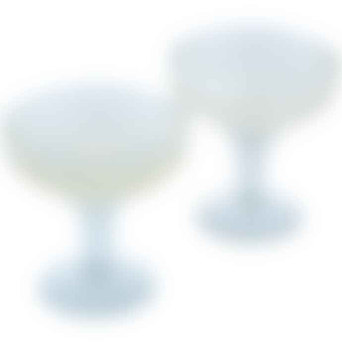 Grand Illusions Champagne Coupe Etched Star Glasses