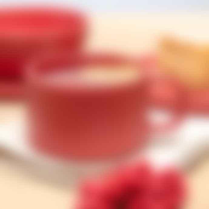 Chickidee Set of 4 Chickidee Fika Berry Red Mari Cappuccino/Tea Mugs