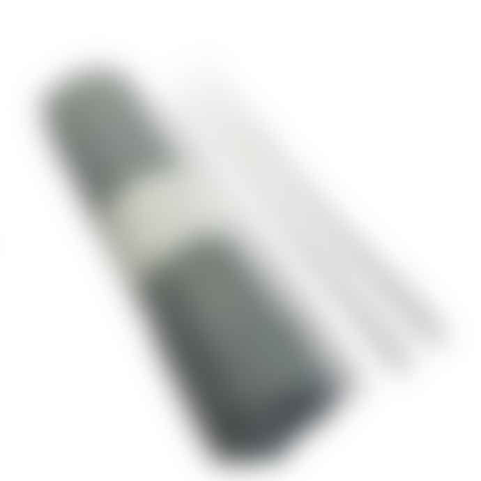 Sting In The Tail Two Bundles of Small 190mm White Paraffin Taper Candles