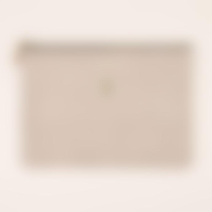 Isabelle Varin 22.5 x 15cm Velvet Leather Lucky Pouch