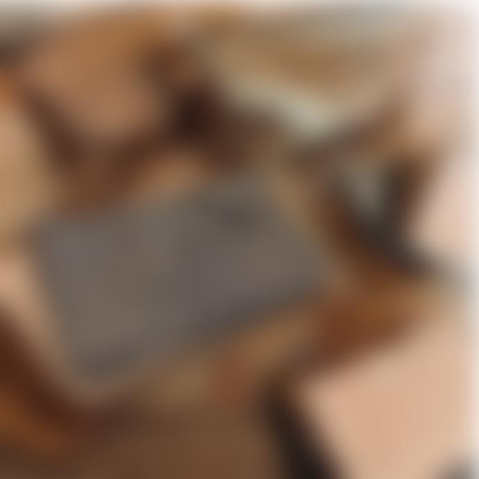 Isabelle Varin 22 x 12cm Gold Zipper Leather Bag