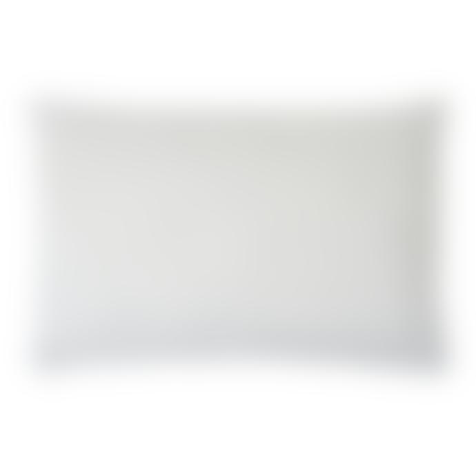 60 x 40cm Black and White Chevron Cushion