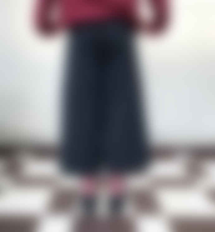 Liebling Malmo Myr Charcoal Grey Tencel Culottes