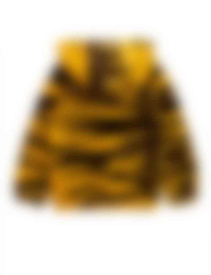 Mini Rodini Tiger Velour Hoodie
