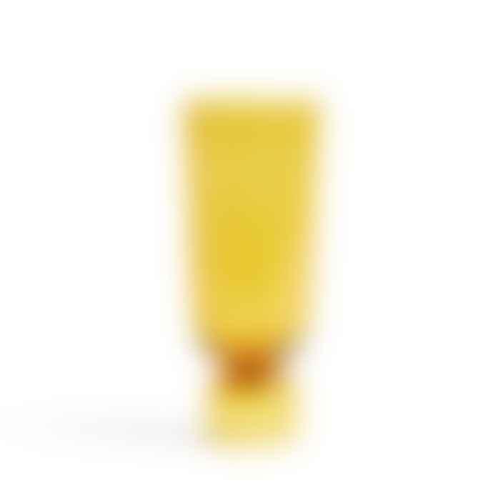HAY Bottoms Up Vase L Amber