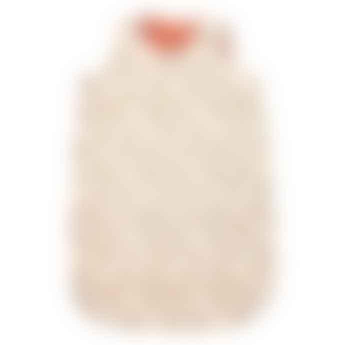Le Petit Lucas Du Tertre Cotton White Christmas Reversible Baby Sleeping Bag