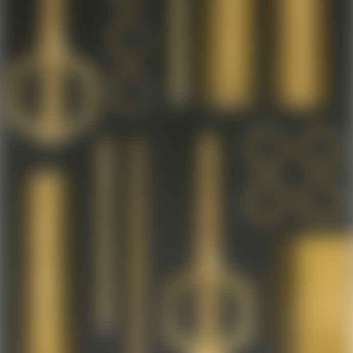 DOIY Design Gold Stainless Steel Hex Scissors