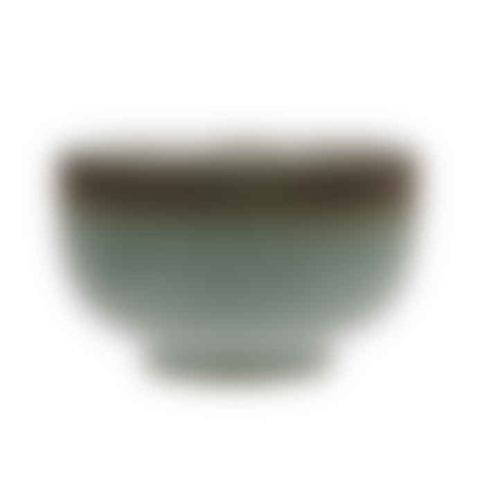 HKliving 13.5 x 13.5 x 8cm Moon Ceramic Bowl