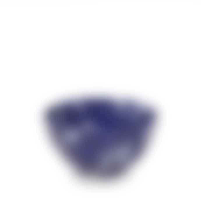 Burleigh Blue Calico Sugar Bowl
