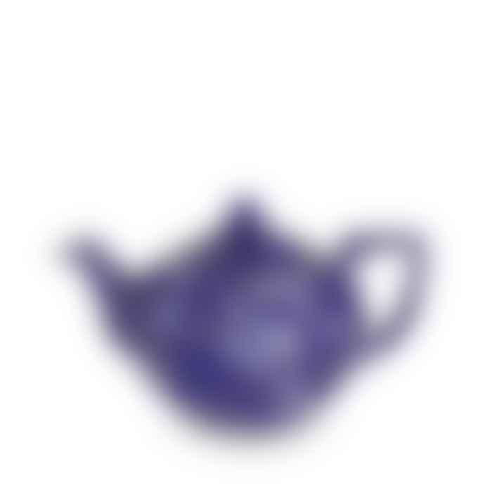 Burleigh 400ml Small Blue Calico 3 to 4 Cup Teapot