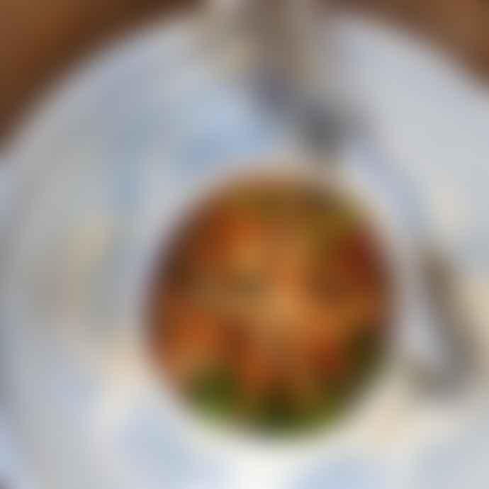 Burleigh Mini Blue Asiatic Pheasants Footed Bowl