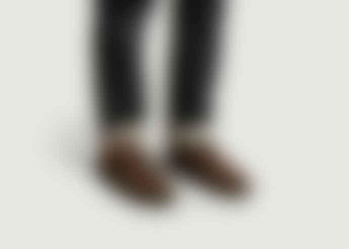 Clae Brown Cotton Canvas Ellington Sneakers