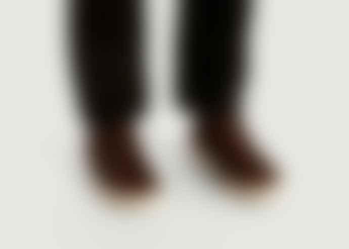 Clae Brown Leather High Bradley Mid Sneakers