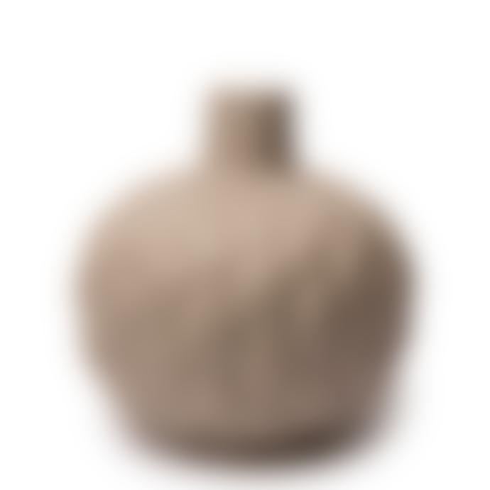 Lindform Astrid Relief Beige Vase