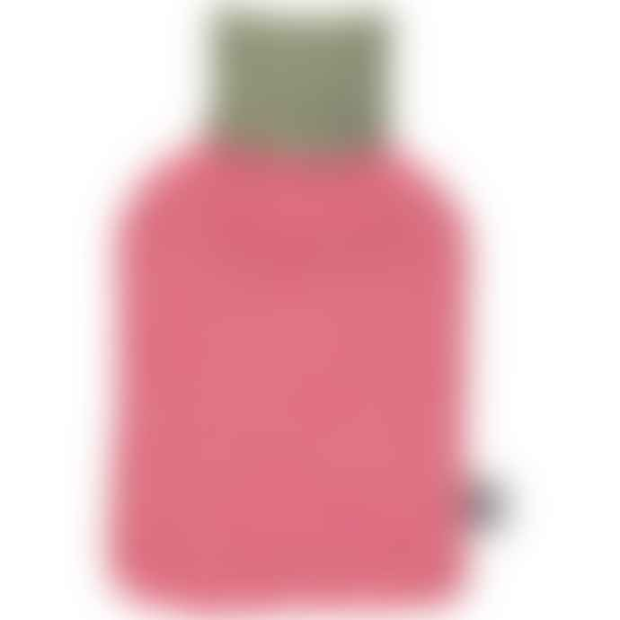 Catherine Tough Luxury Lambswool Pink Spot Hot Water Bottle