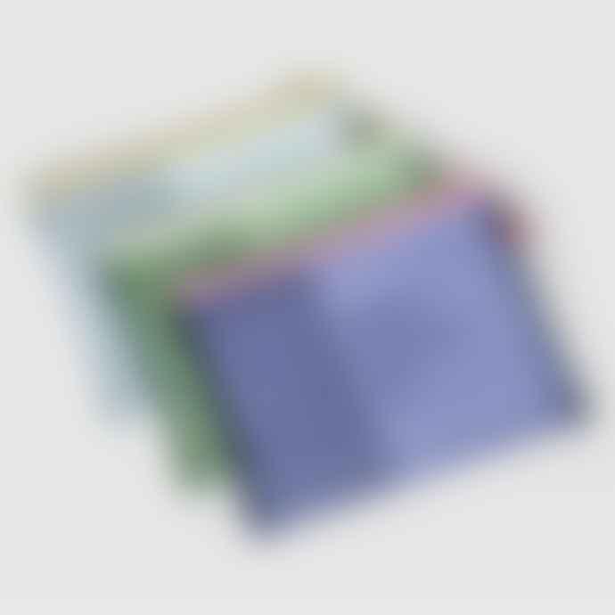 Papier Tigre Mesh Pocket Indigo