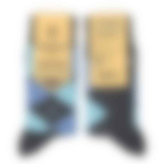 Conscious Step Socks That Give Water Blue Black Grey