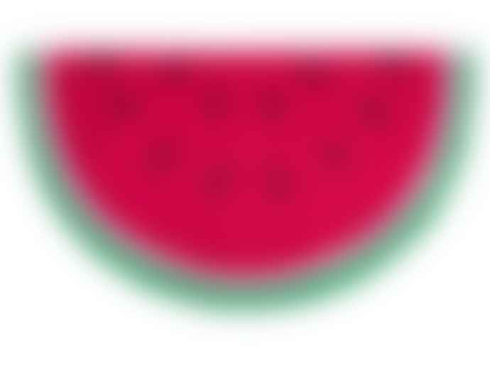Fisura Watermelon shaped doormat 40 * 70cm