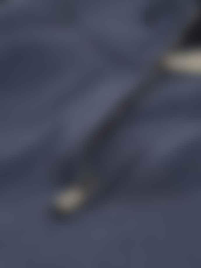 Corneliani Wool Cashmere Knit Indigo
