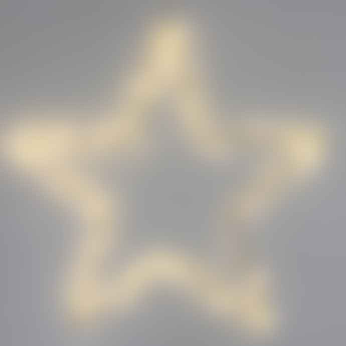 Lightstyle London Extra Large Black LED Star Light Mains operated