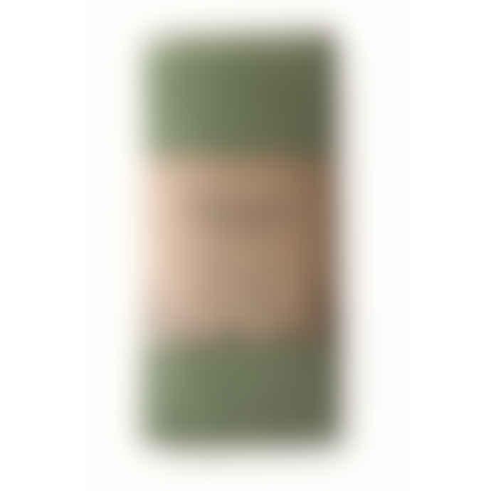 Vaxbo Lin Green Linen Tea Towel