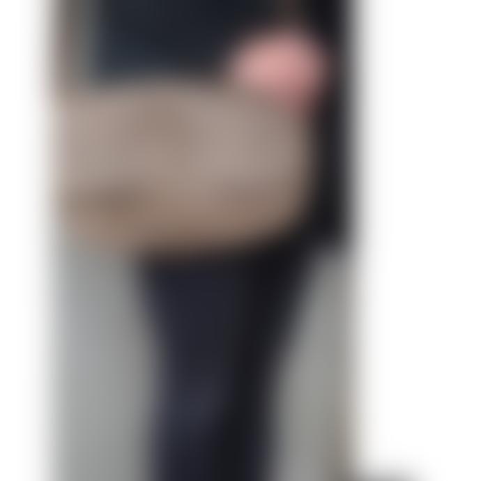 Keecie Italian Leather Shoulder Bag