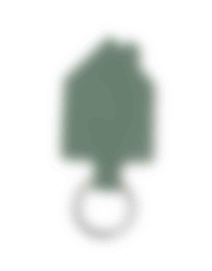Keecie Italian Leather Good House Keeper Keychain